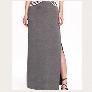 Old Navy | Grey Maci Skirt With Slit